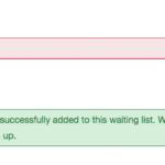 Waiting Lists - Step 3